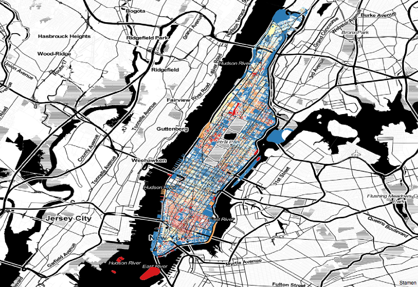 Manhattan pluto map dataland this map is generated by qgis i first downloaded the pluto dataset from the nyc and then imported it in qgis since the pluto data is a shapefile gumiabroncs Gallery